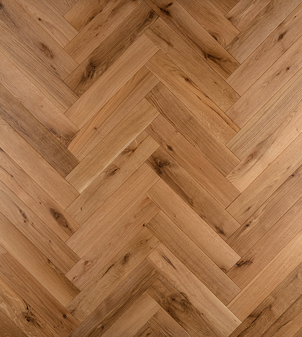 Character Rift & Quartered White Oak Herringbone