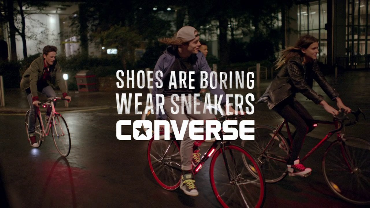 cONVERSE    Made to Light up