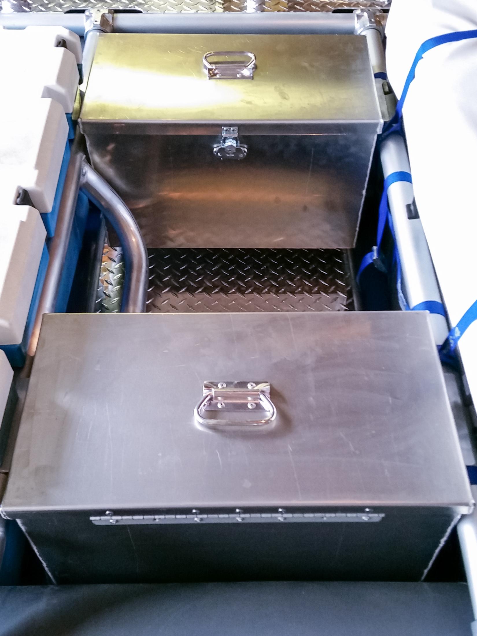 Custom Captains Box - Built to suite - $379