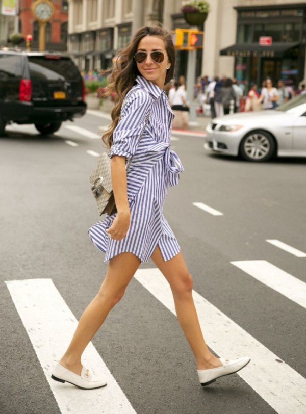 best-white-loafers-navy-and-white-wrap-dress.jpg