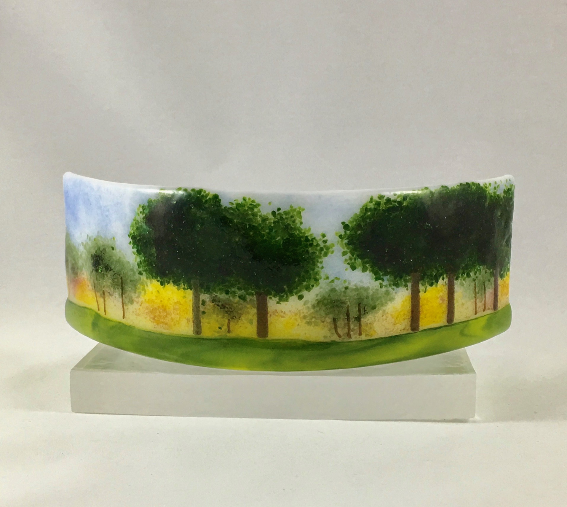 """Trees in the Round - 3"""" x 9"""" x4"""""""