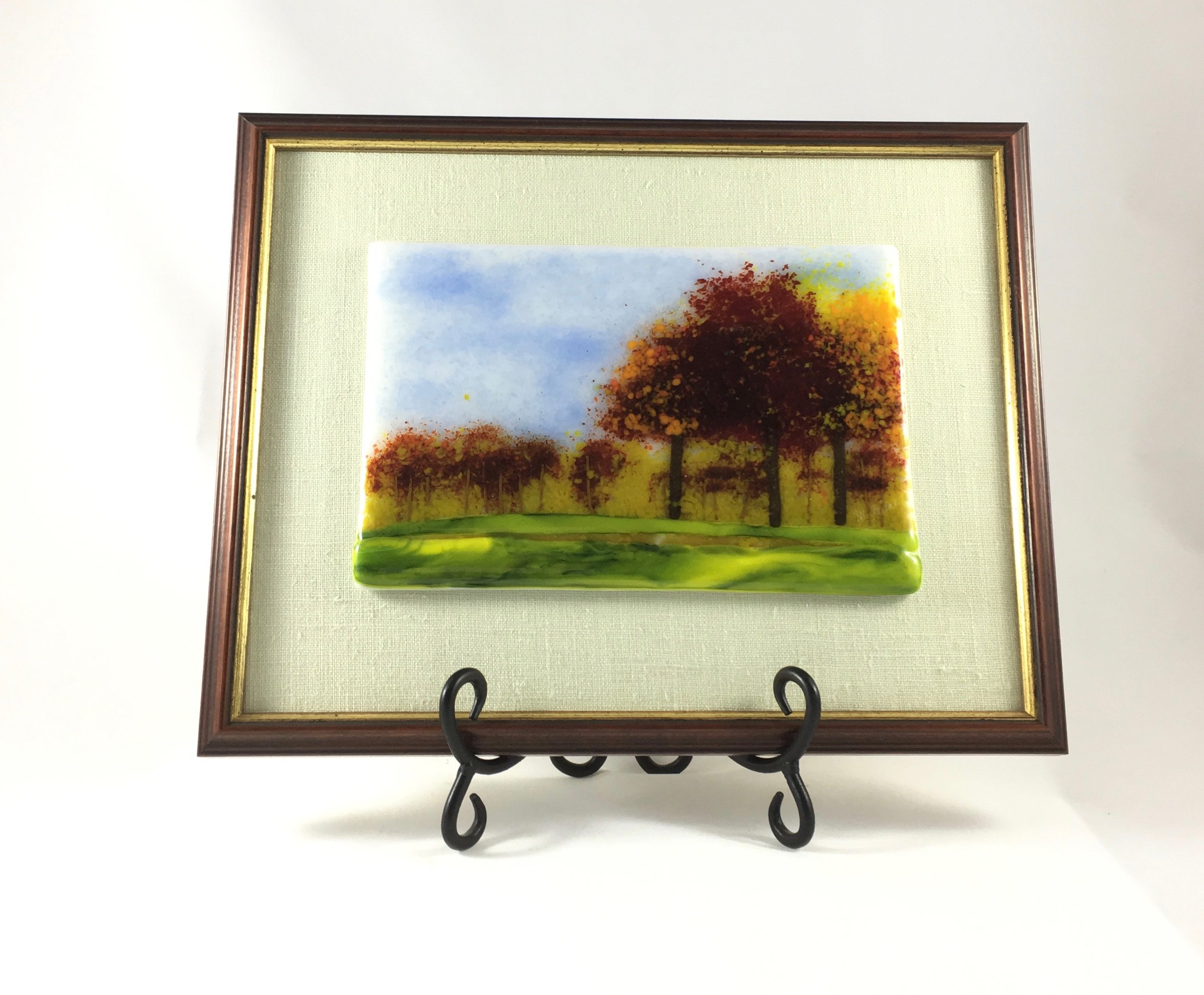 """9th Hole in Autumn - 10 1/2"""" x 12 1/4"""""""
