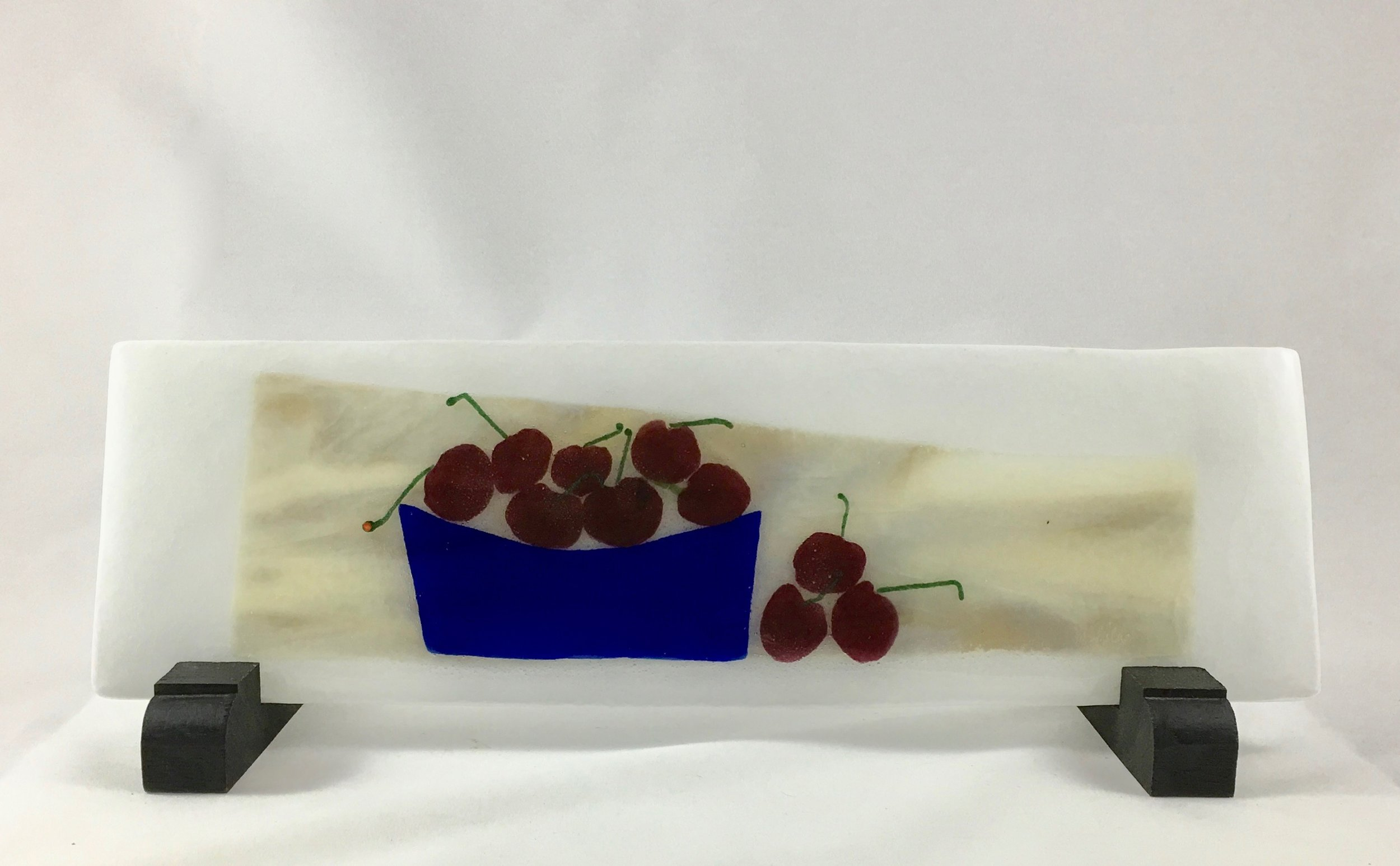 "A Bowl Full of Cherries - 4 3/8"" x 13 7/8"""