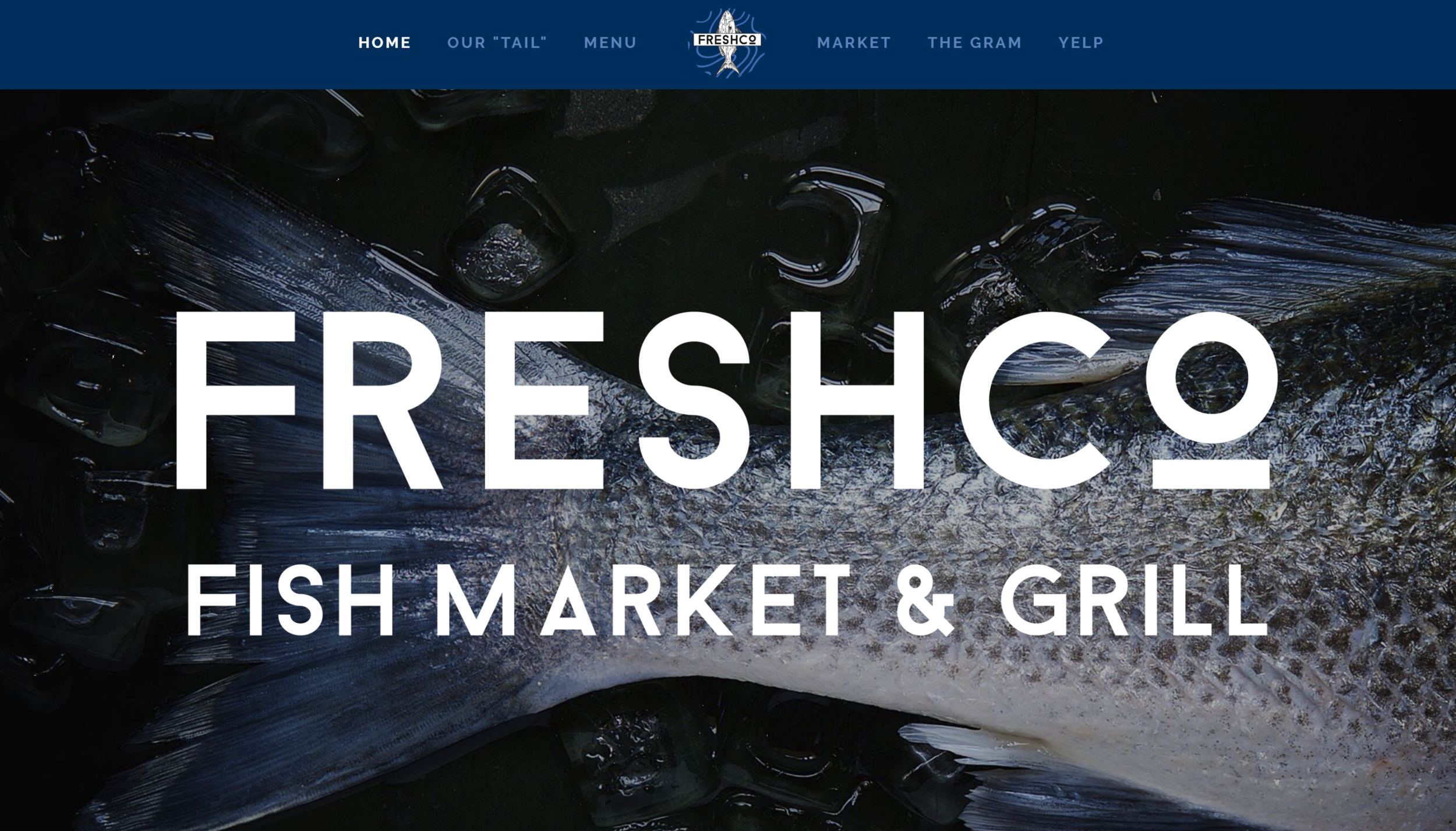 FreshCo Website designed by IAMagine
