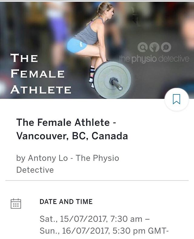 Just booked my flight to go to The Female Athlete course held by @physiodetective in July!! I cant wait to learn about high intensity training for women! 📚💪#postartumfitness #fitmoms #yeg #yegmoms #iamyegfit #diastasisrecti #pelvicfloor