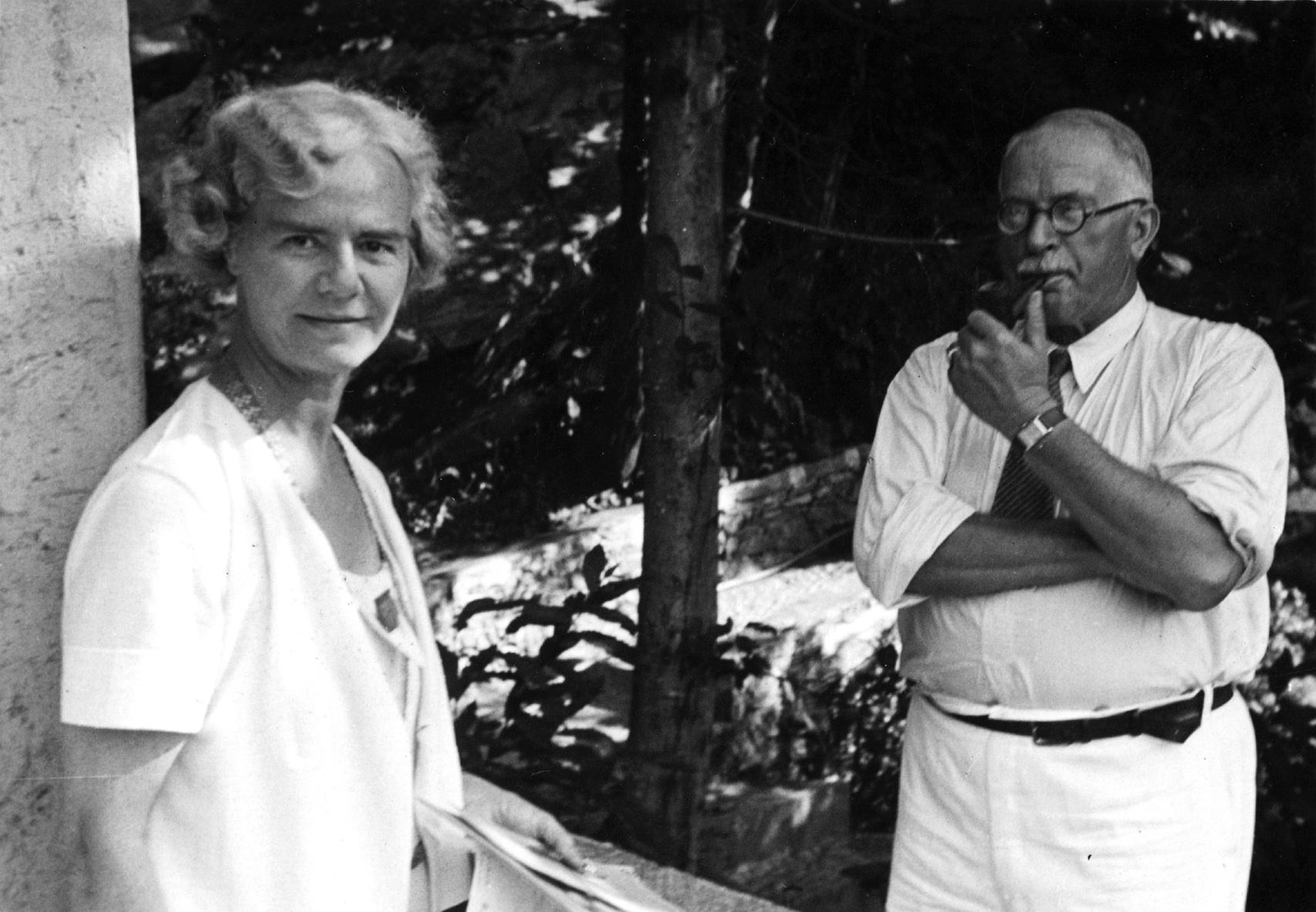 Jung and Olga Fröbe-Kapteyn