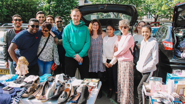 Car boot sale -