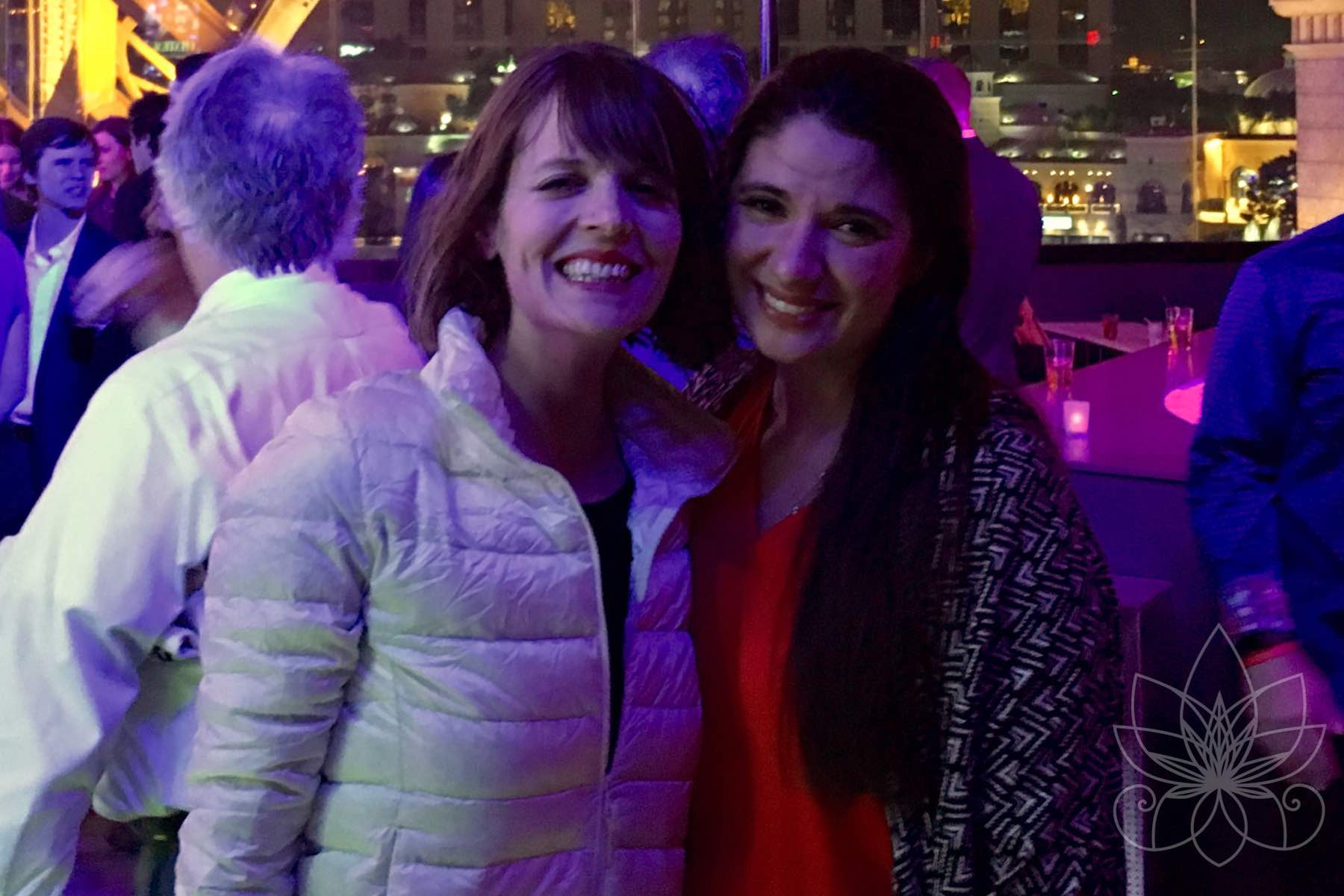 Stacey Mulvey and Allie McAboy at The Cannabist Awards 2016 in Las Vegas