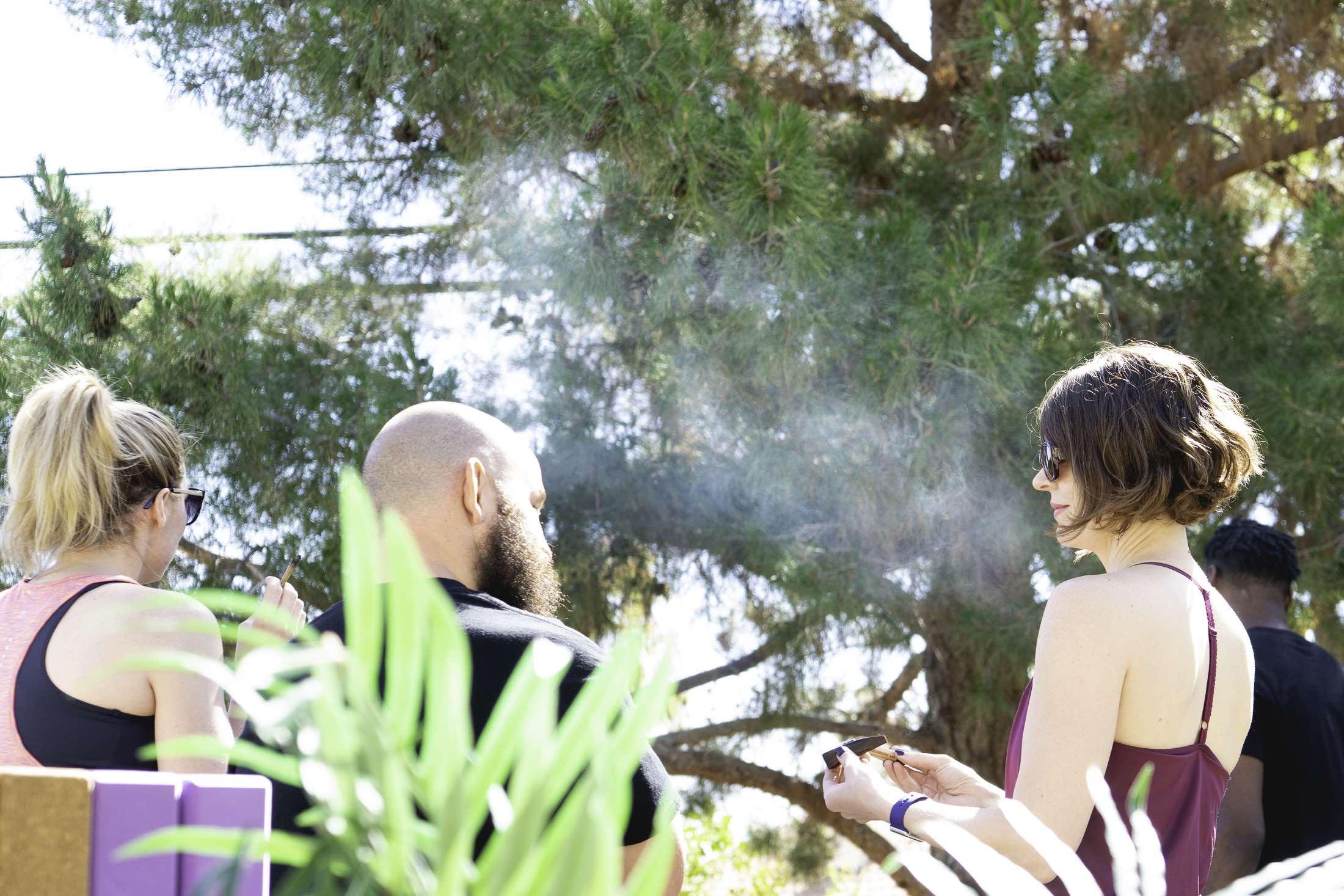 Cannabis Yoga Class 5 | Marijuasana | by Downtown Lens | .jpg