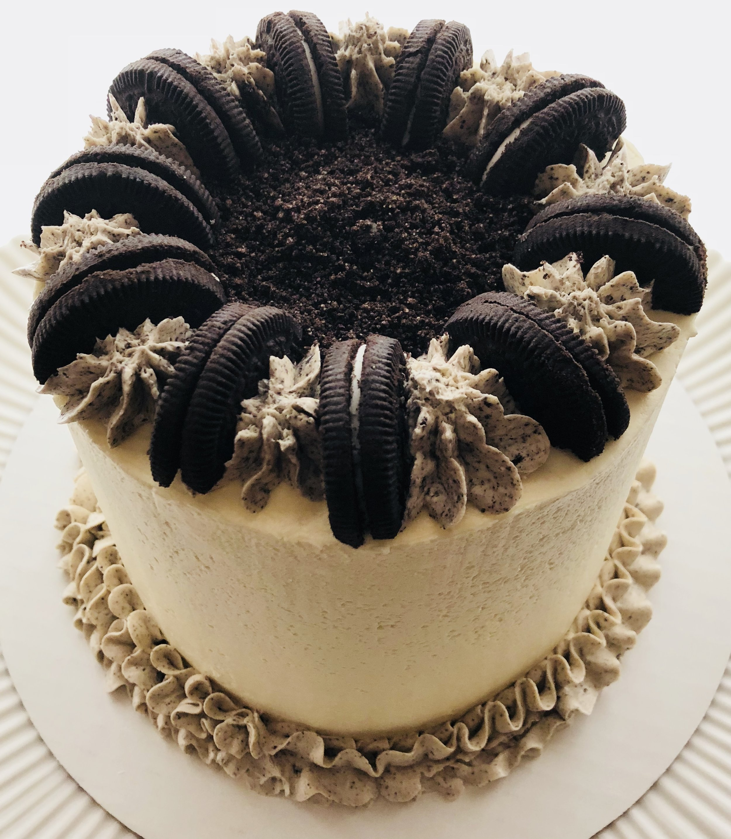 Cookies and Creme chocolate cake
