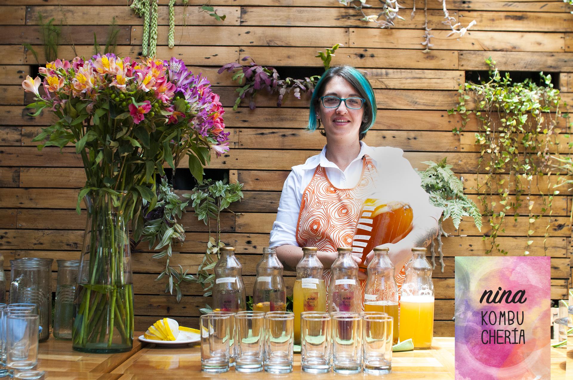 Paulina Simon, emprendedora kombuchera
