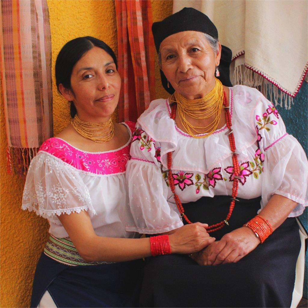 - Matico de Huarmi Maqui y su hija Paola - Fotografía: Sara Manaca
