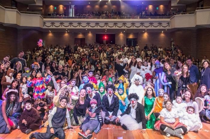 """Obra de teatro """"Los Argonautas de la Alegría"""". Fotografía: Fundación Cecilia Rivadeneira"""