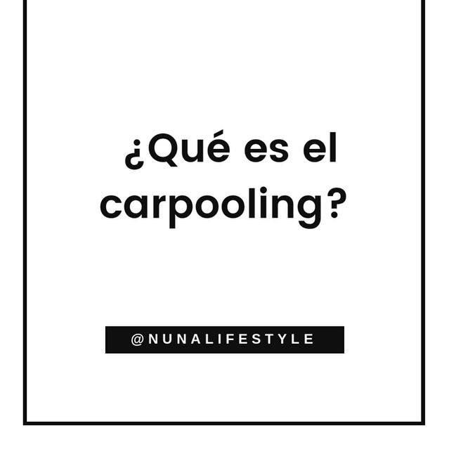 """El """"carpooling"""" o vehículo compartido, consiste en compartir un automóvil con otras personas para transportarnos de un lugar a otro 🚘. . Ahora que el #hoynocircula rige en Quito, este sistema colaborativo es una buena alternativa para movilizarnos. Solo debes coordinar horarios y puntos de encuentro con tus compañeros de trabajo, universidad, etc., que vivan cerca de ti. De esta manera, no solo ahorrarás al reducir tu gasto en gasolina, sino que disminuirás el tráfico y las emisiones de CO2 🌎. . Si conocen iniciativas locales, de carpooling, no duden en dejarnos sus comentarios para que más personas se sumen ⬇️💚 #PlanetaNuna #quito #movilidad #carpool"""