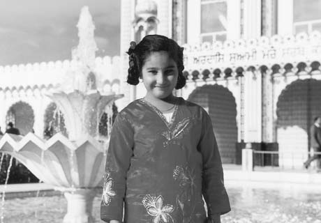 Reena Virk as a child