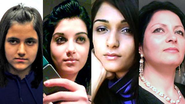 Geeti, Sahar, Zainab, Rona