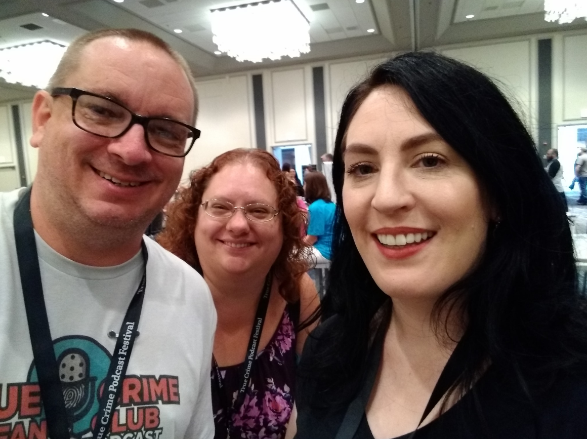 With two long-time listeners Sam and Crystal Simpson