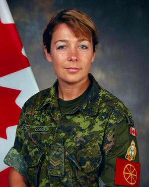 Corporal Marie-France Comeau