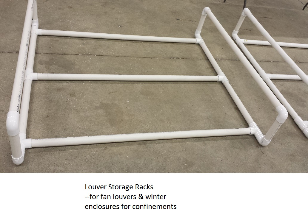 Louver storage rack for fan louvers and winter enclosures.jpg
