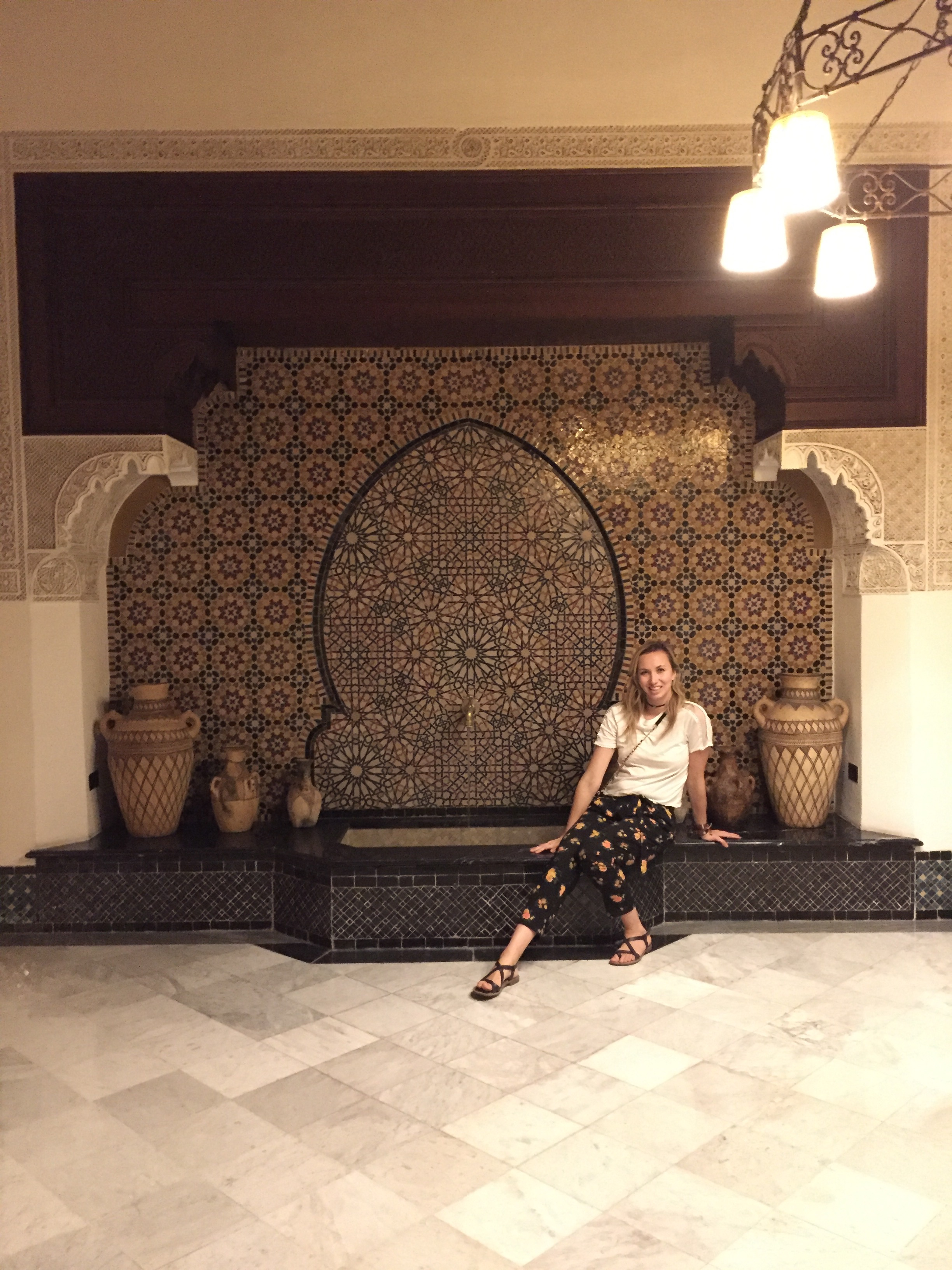 The luxury achieved in Morocco is unparalleled - take a look at the intricate details seen at Mamounia