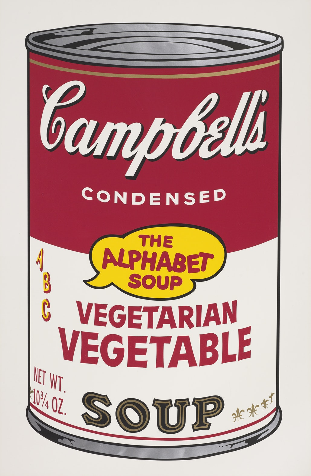 untitled [Vegetarian Vegetable] from Campbell's Soup II, Andy Warhol, 1969