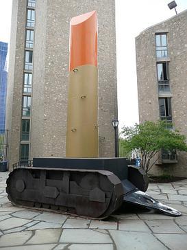 Lipstick (Ascending) on Caterpillar Tracks, Claes Oldenberg, 1969