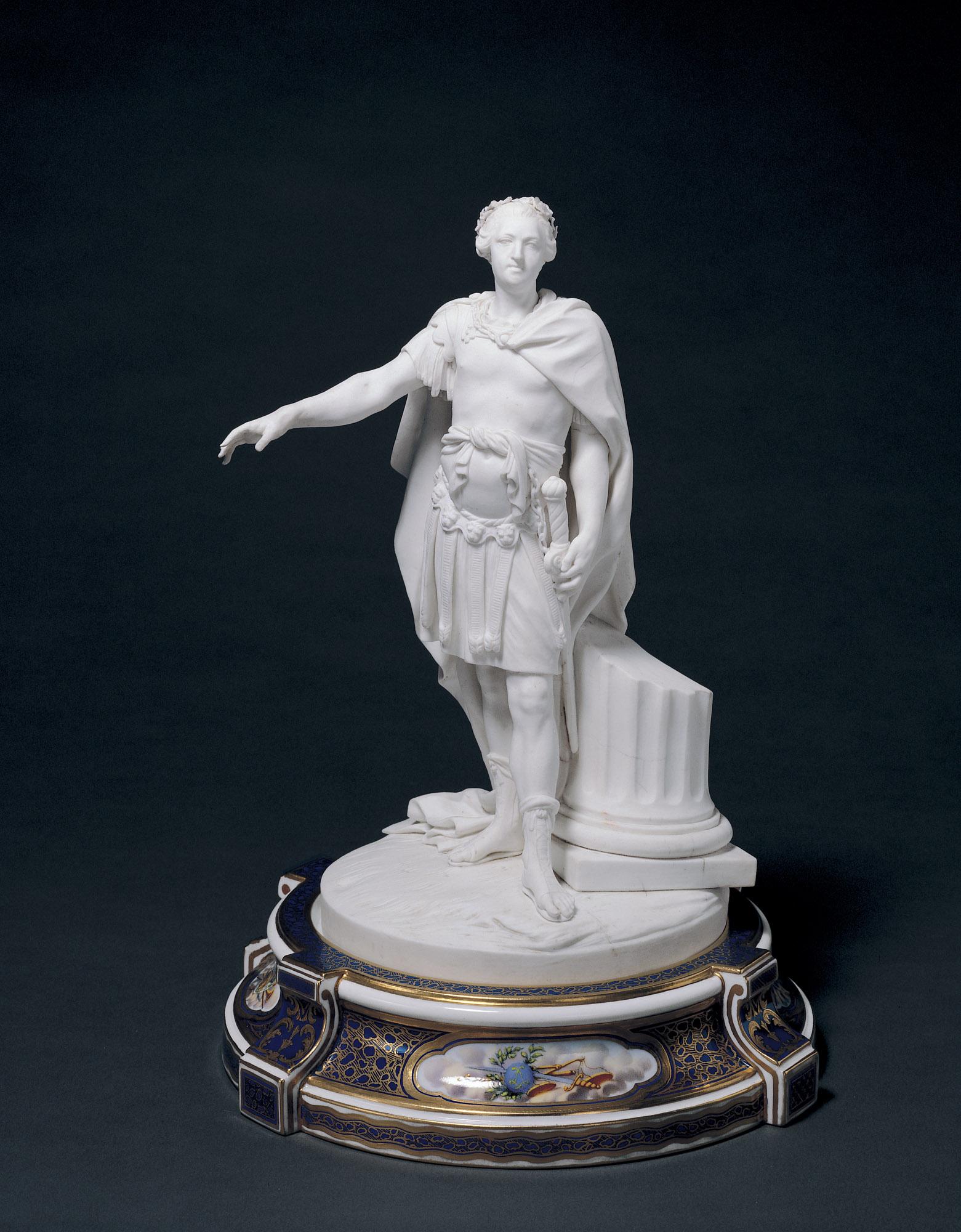 Sèvres Porcelain Factory,  Figurine of Louis XV , 1770, 1917.958