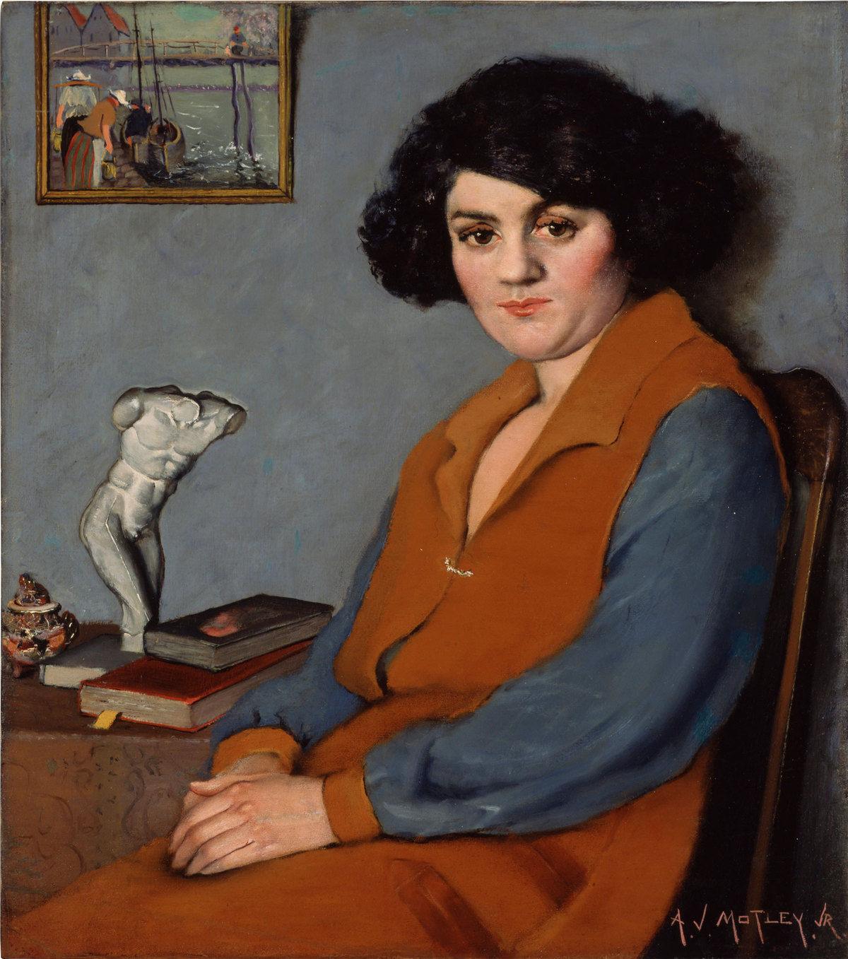 The Mulatress , Archibald Motley Jr., 1920, Whitney Museum of American Art.
