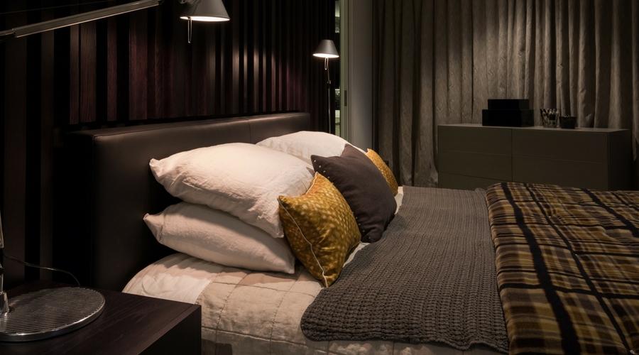 Herne Bay master bedroom