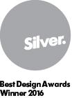 Best design awards silver winner 2016
