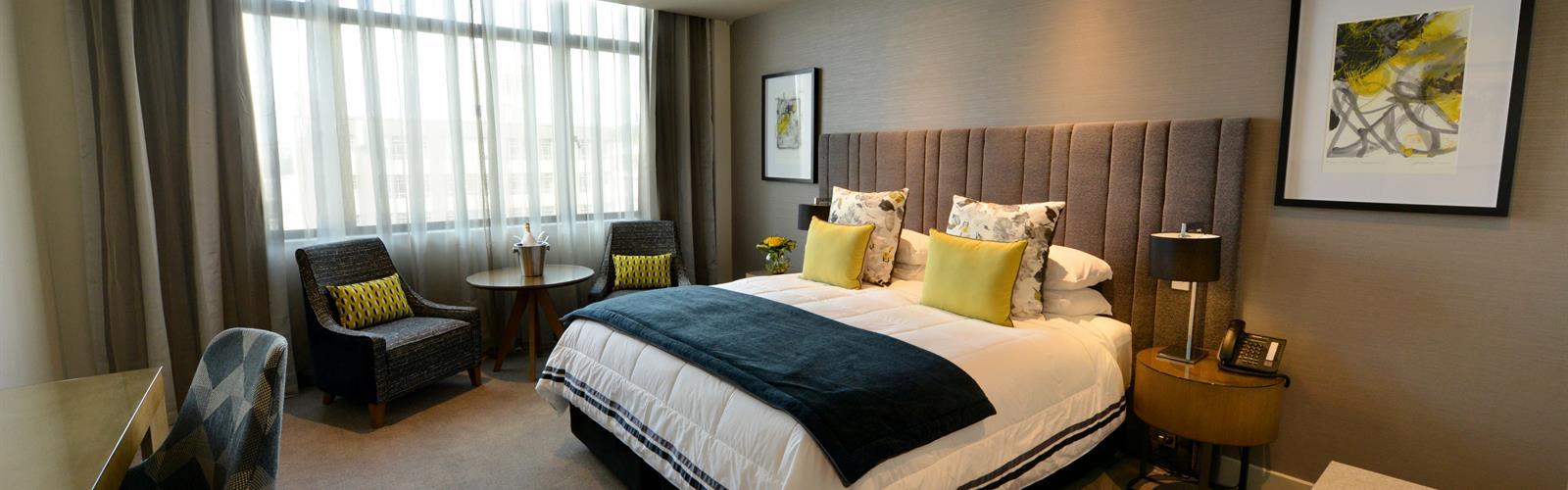 Distinction Dunedin double bedroom