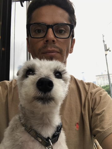 Stephen R  has lived in NYC for the past 15 years in Greenwich Village. Having worked in fashion retail for many years he decided to go back to school to become a Nuclear Medical Technician. He shares his home with his partner and adorable Schnauzer puppy, Shana.