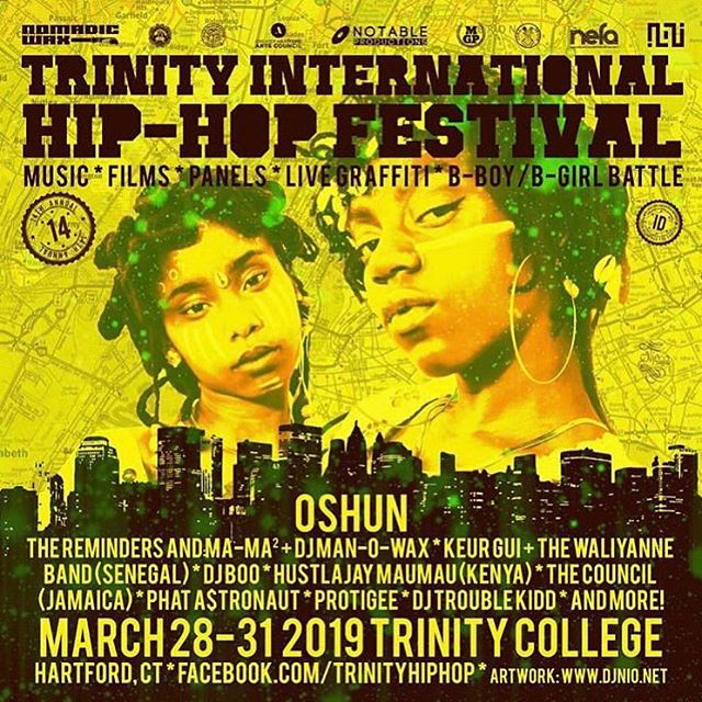 This Saturday March 30! Showtime at 8pm.. Myself @fivesteez @thesickestdrama @inztinkz will be blessing the stage. This is the first time the 4 of us will be performing together as The Council. It's bout to get heavy.. We loaded.. Shouts to @trinityhiphop and everybody involved.  #HipHop #undergroundhiphop #trinityinternationalhiphopfestival #hiphopfestival #TheCouncilOfTheGods #Kingston #Jamaica #NYC #Connecticut