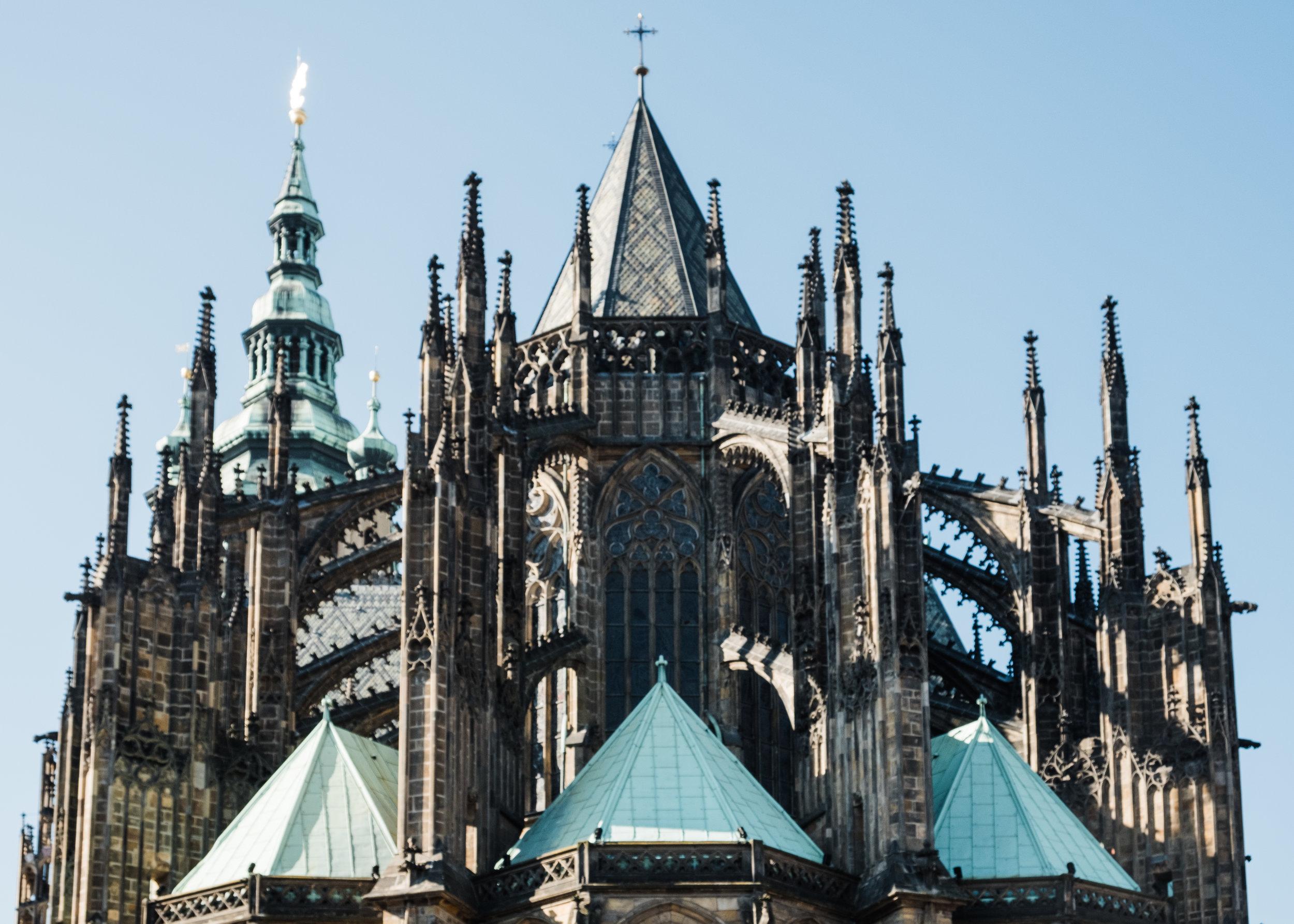 The stunning Prague Castle