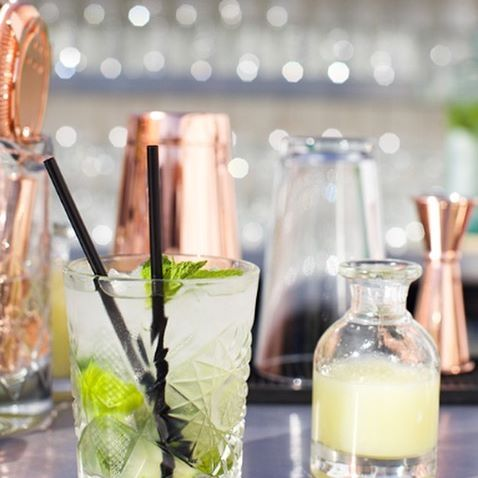 Art of Mixology - Our team combine molecular gastronomy and slight-of-hand for a magical skills showcase