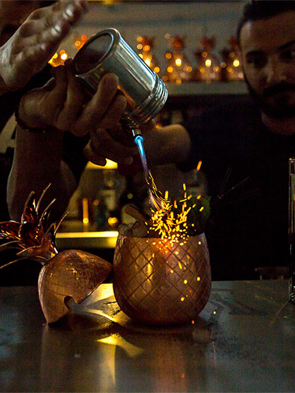 Party Production - Our bar, mixologists, music and decorations –plus our know-how – will deliver a truly unforgettable event