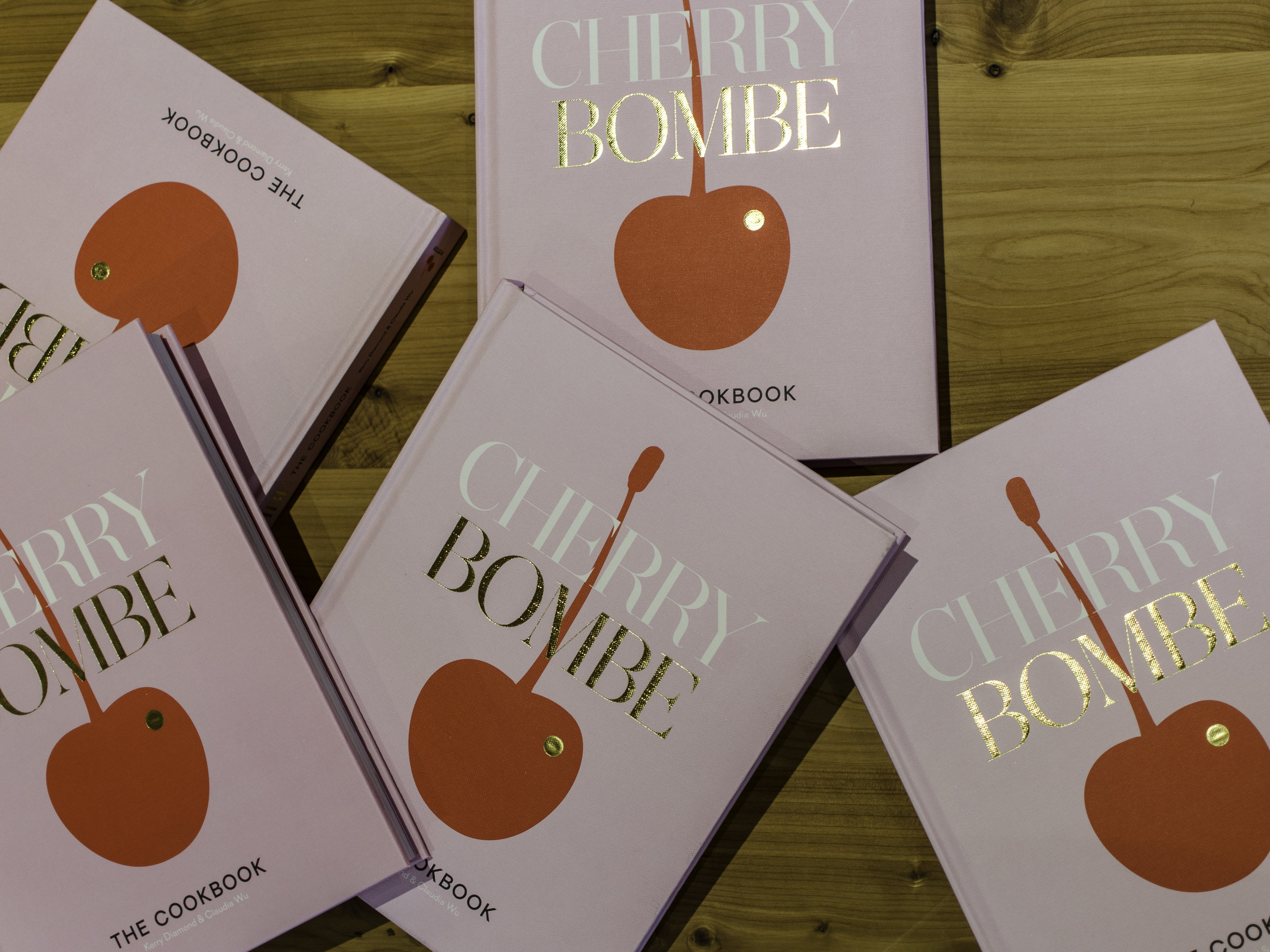 Cherry Bombe - For someone that doesn't cook much (aka at all) I am totally obsessed with cookbooks. This one is bright, fun, and features a ton of amazing recipes!