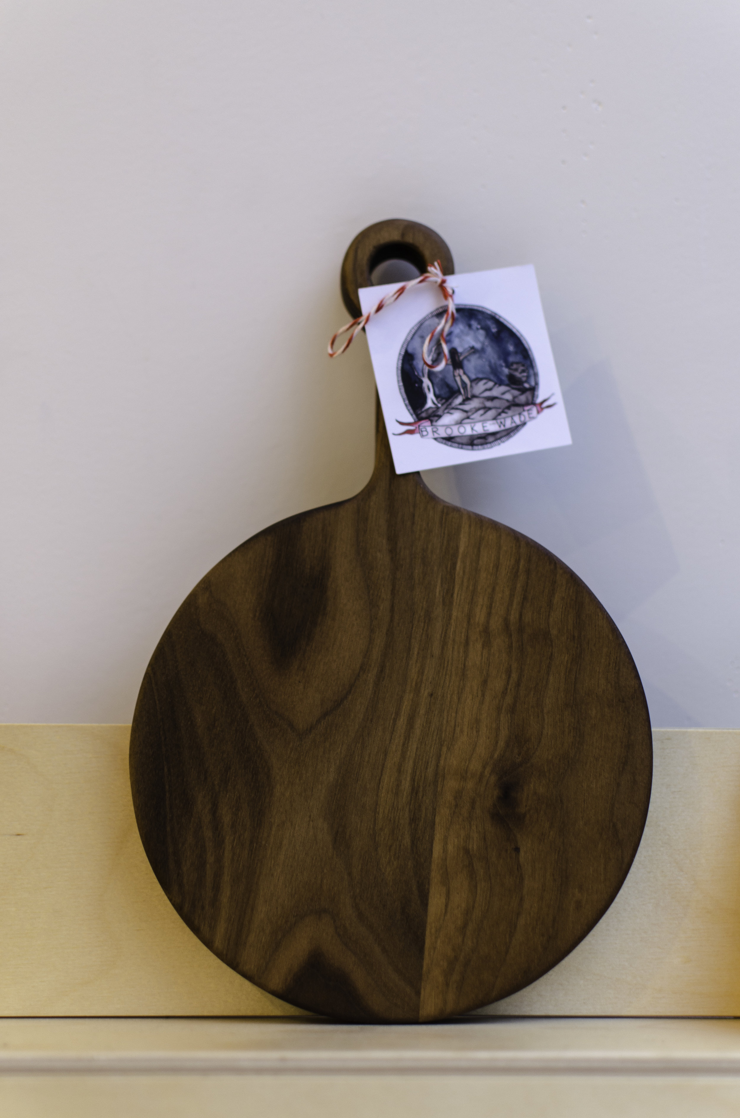 Brooke Wade Serving Board - I would give this to any of my girlfriends that like entertaining. I am always down for a good cheese selection and I tend to hang out with fellow cheese friends.