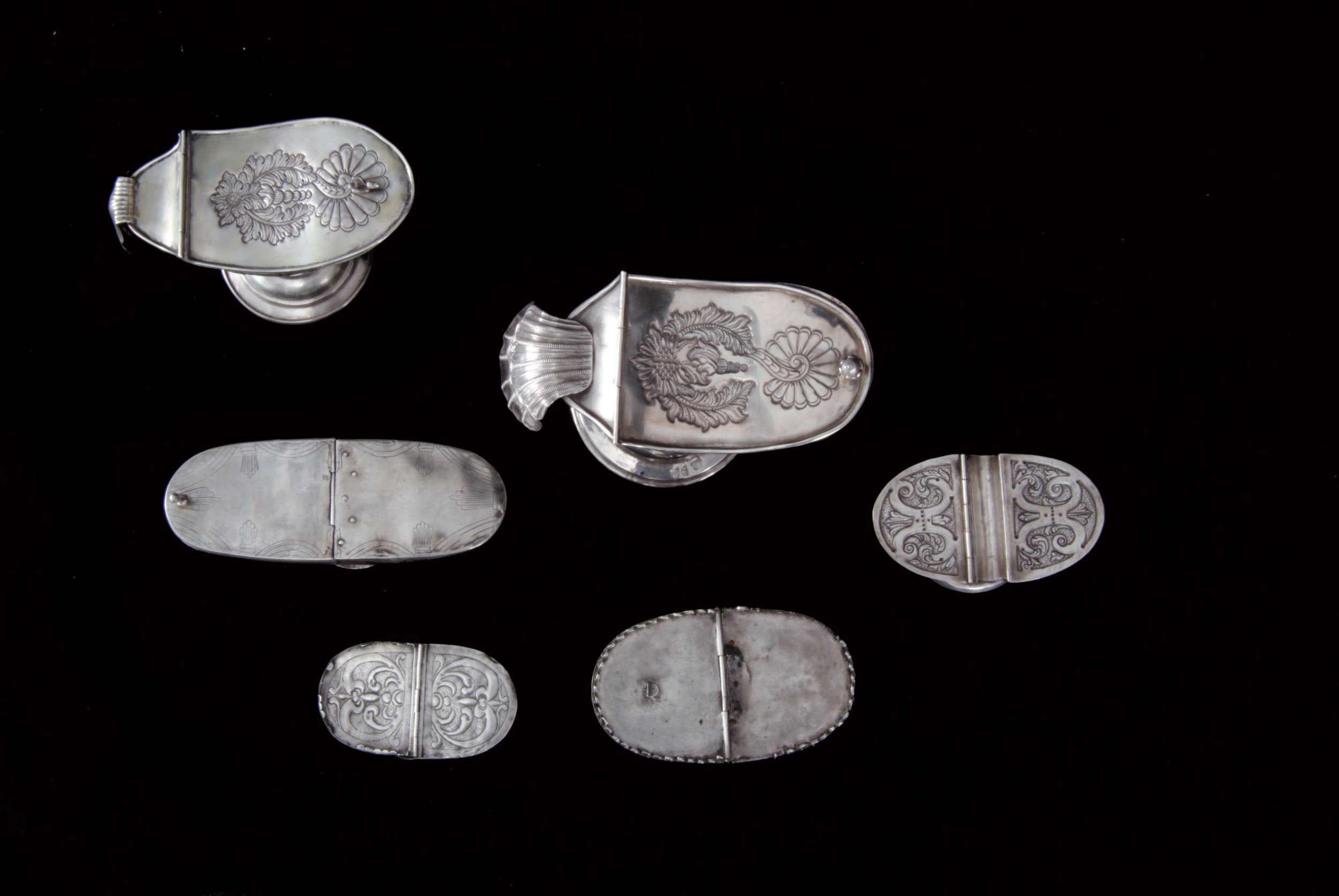 Navetas, Orfebrería de Guatemala. Siglos XVII-XX