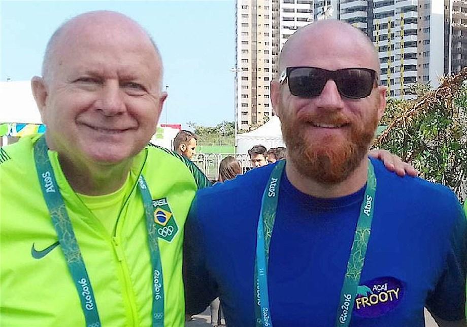 Bernard e Phil Rajzman / Arquivo pessoal