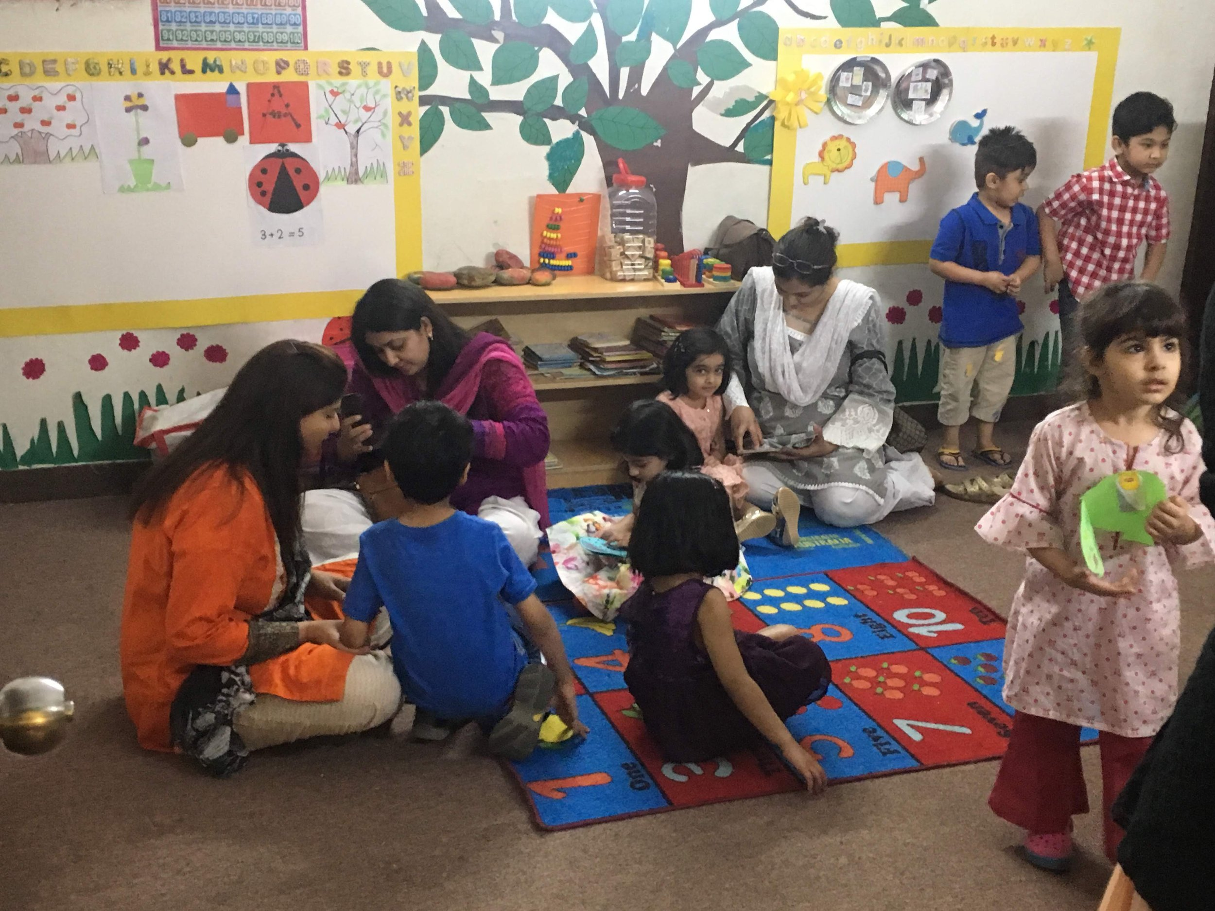 At Acton Academy Lahore, we follow the key principles of a Montessori education:   1. A deep respect for the child as a unique individual as the cornerstone of all the other principles  2.  Three-hour work cycle  to deepen learning and improve focus, concentration, and attention span  3. Mixed-age groupings to allow for peer-to-peer learning, leadership opportunities and mixed-age socialization  4. Freedom of movement and independent choice  5. Focus on five key areas of learning, including practical life, sensorial, mathematics, language, and culture  6. Experiential learning, investigation, and research, through the use of authentic Montessori materials, spread out throughout the space and divided by key area  7. Focus on educating the whole child, including physical, spiritual, social, mental, and emotional education  8. Emphasis on peace, the community, mutual respect, and a global perspective, including learning peaceful conflict resolution skills