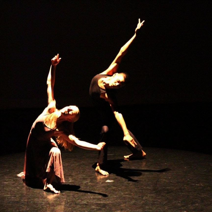 Bridget performing with Dance Matters NYC faculty