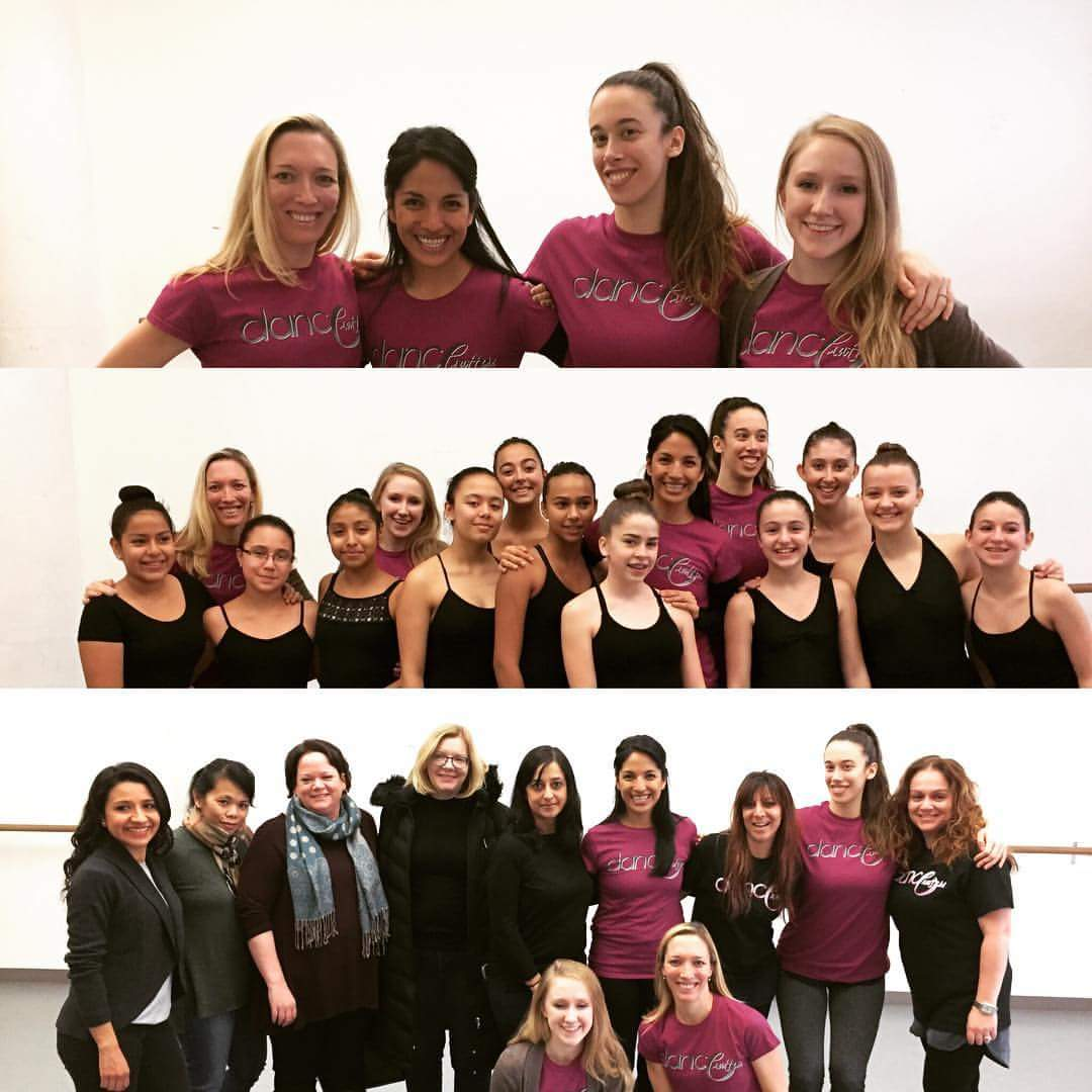 Dance Matters Full Company: Faculty, students, and parents