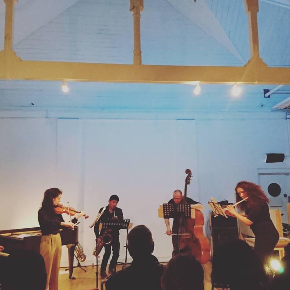 photograph of Ensemble by Megan Steinberg