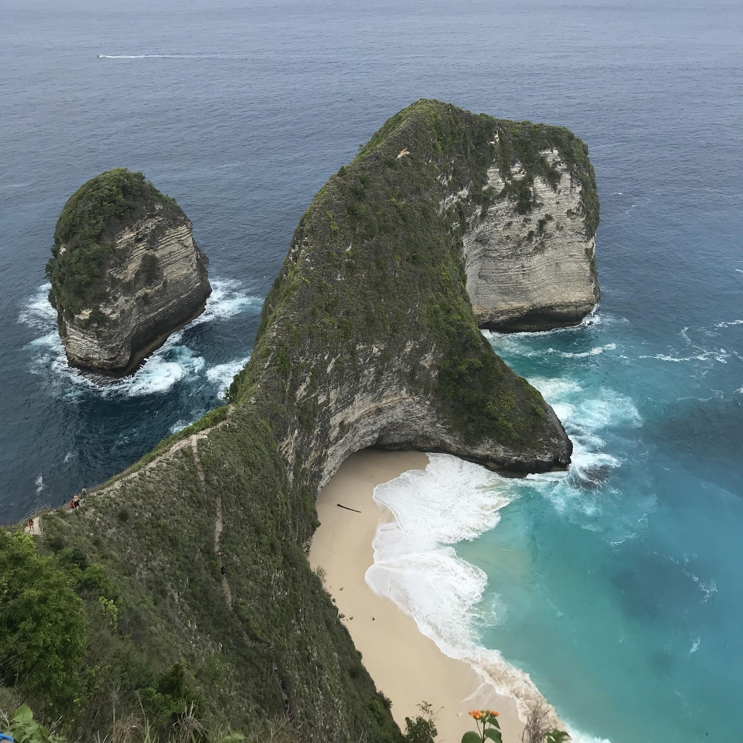 Day trip to Nusa Penida: KelingKing Beach & Crystal Bay -