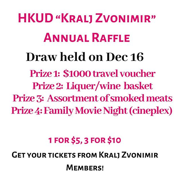 Our raffle tickets are out!!! Big thank you to those that sponsored prizes for this years raffle. Audrey Travel & Tours @tetaaud, @in2itionrealty , @agentvrcic and @mdgeneralcontracting ! Proceeds from this raffle go directly into purchasing costumes for our members.