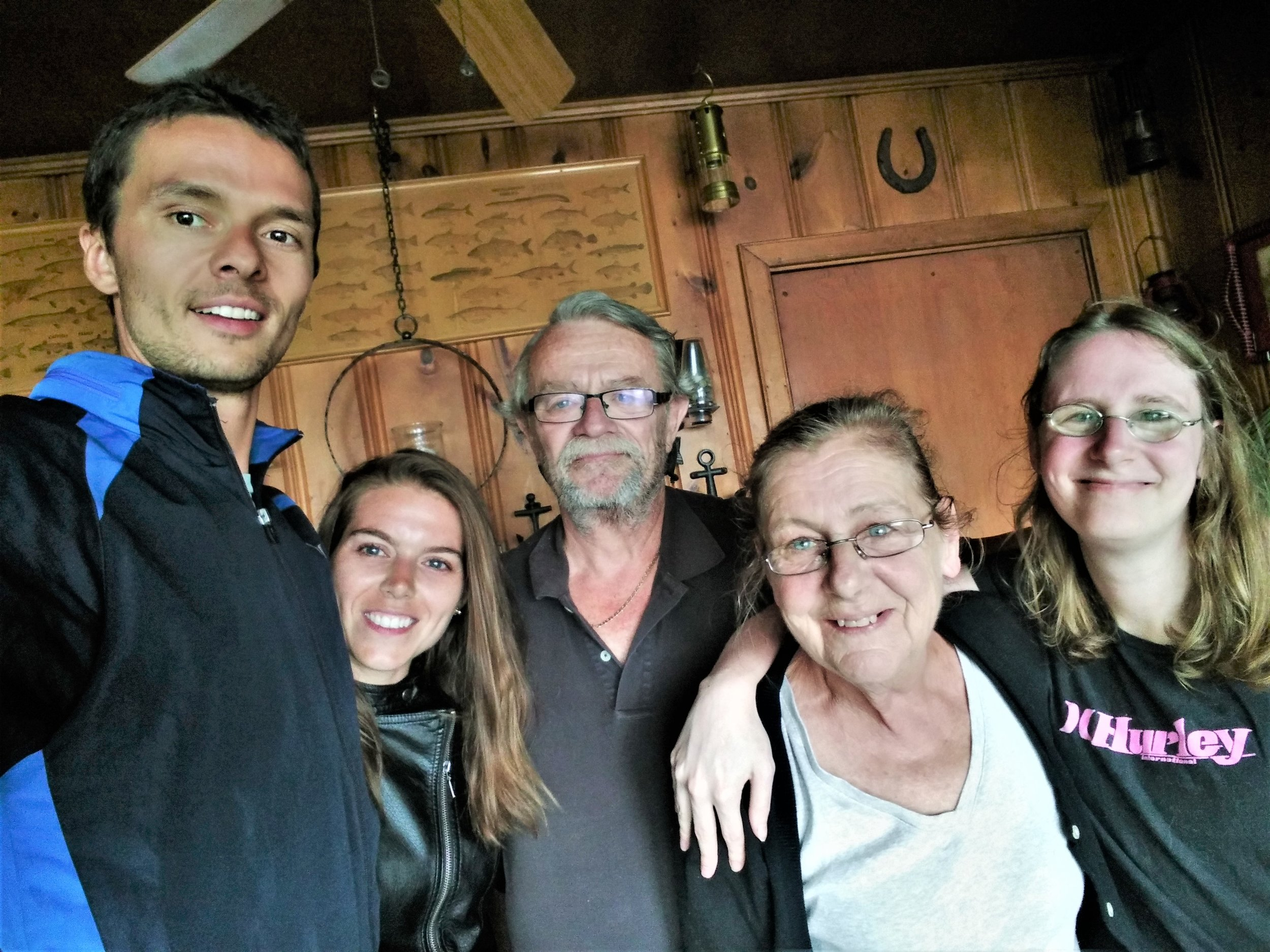 Although we had never before met Cathy, Bob, and their lovey daughter Jen, Braden's extended family welcomed us in as just that: family.