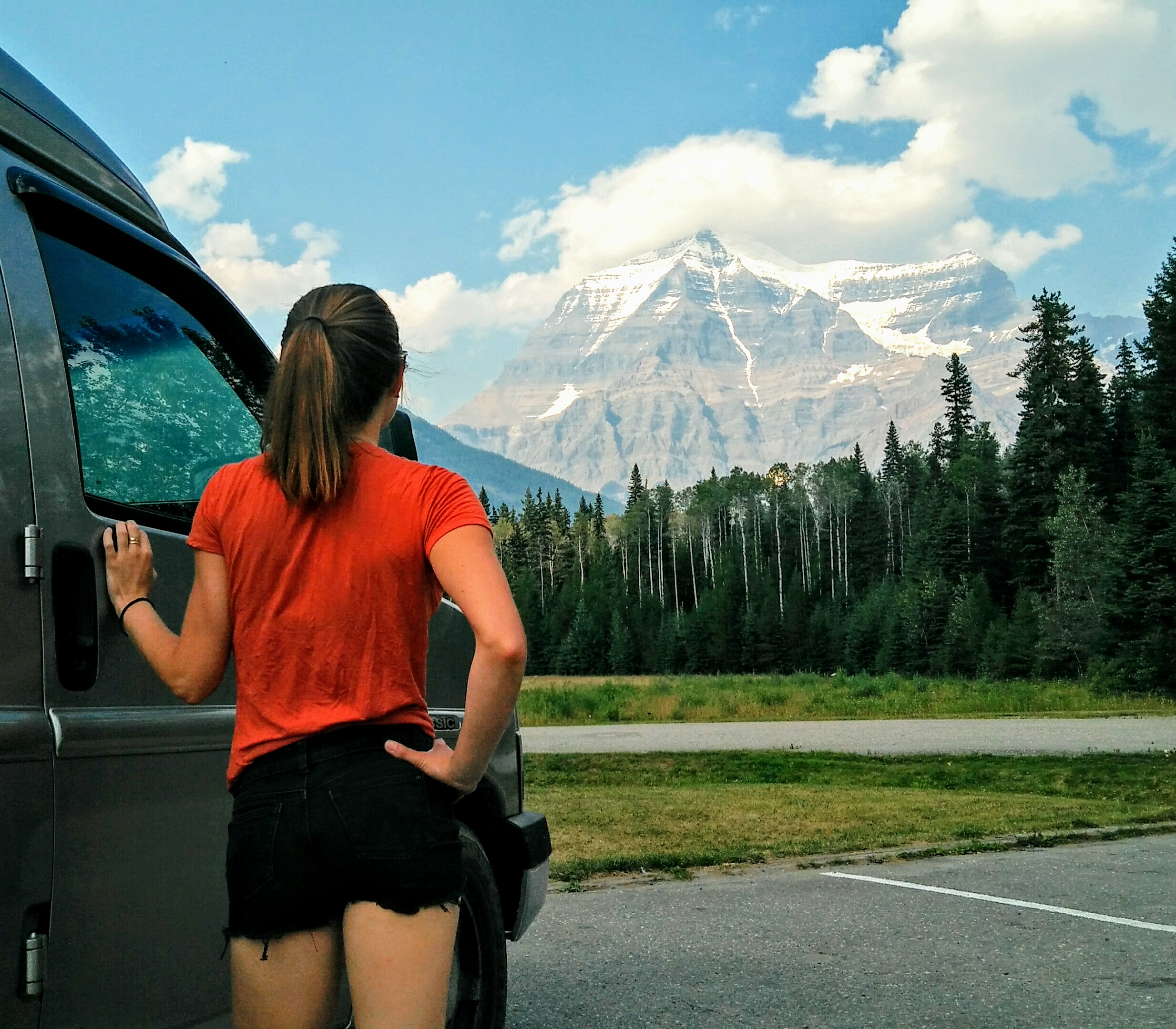 Mount Robson, the crowning glory of beautiful Jasper National Park