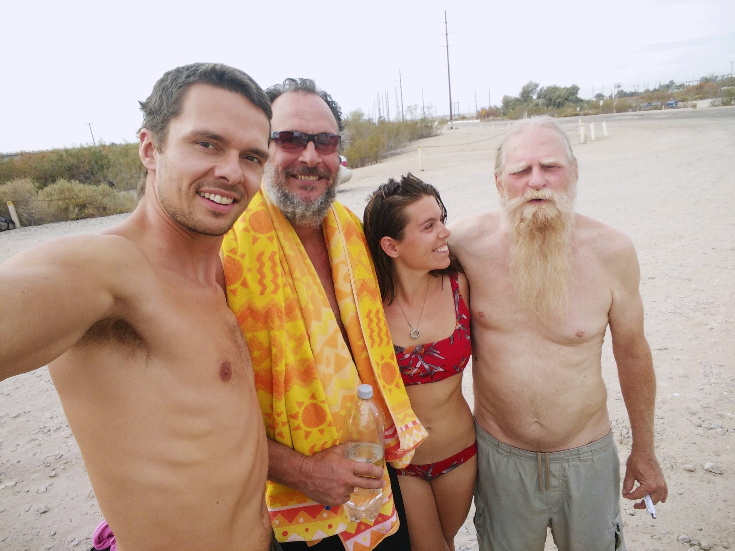 In a very short amount of time, strangers become friends at places like Holtville Hot Springs
