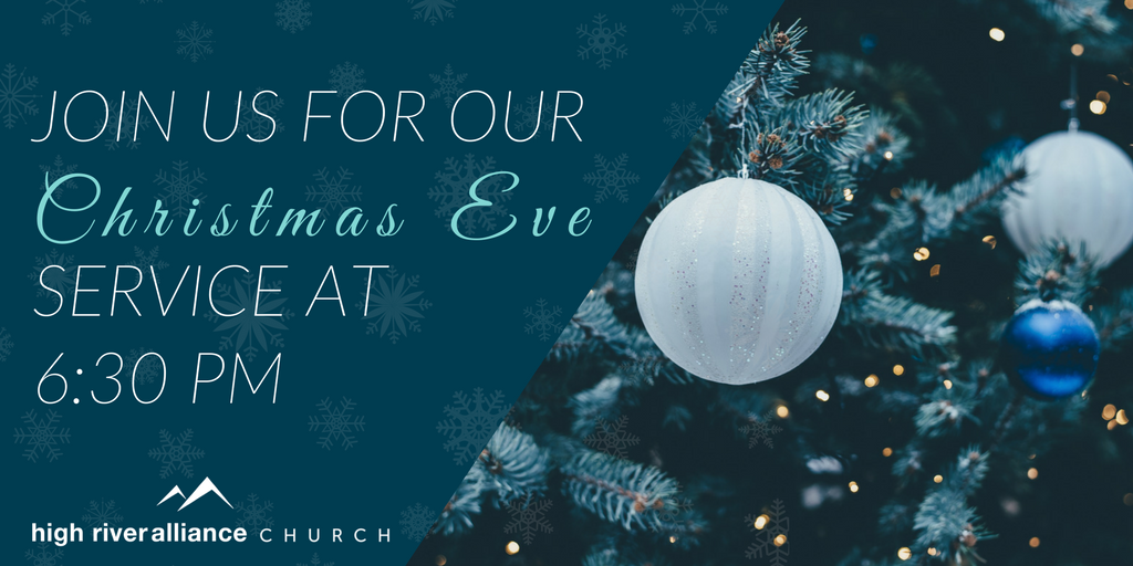 Christmas Eve Service Invite